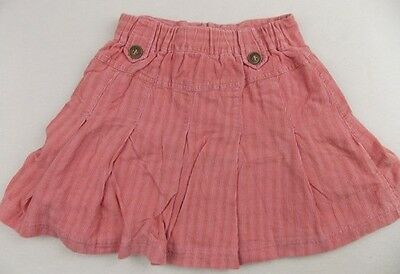4y fits 2-3y MAYORAL girls pink designer lined cord casual skirt