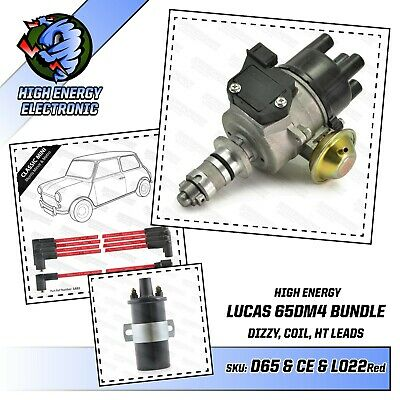 Mini Metro 65DM4 Distributor A+ Engine with Coil & HT leads AUU1536 lucas 42664
