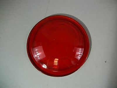 Industrial Steampunk Glass Art Red Lens 5667 New