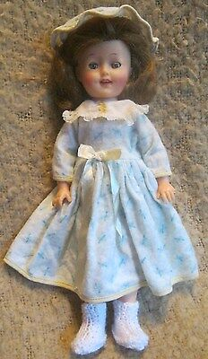 Vtg 1950's Ideal ST-12 Shirley Temple Doll ~ HTF Tagged PJ Outfit ~ All Original