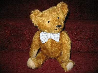 Antique American Ideal Teddy Bear c 1920 Excellent mohair coverage
