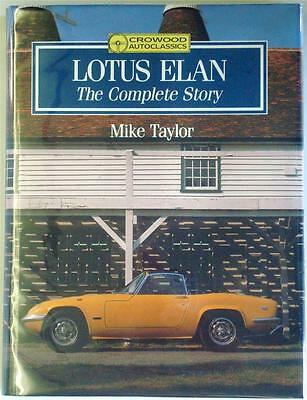 Lotus Elan The Complete Story Mike Taylor Car Book
