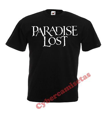 Camiseta Paradise Lost Negra Chico Black T-Shirt - Varios Colores