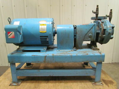 "Thrush 2.5x3x7-HPFE300-20 Base Mount Centrifugal Pump 20HP 3Ph 3""In 2-1/2""Out"