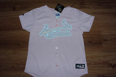 YADIER MOLINA ST. LOUIS CARDINALS NEW MLB WOMEN'S MAJESTIC OFFICIAL JERSEY