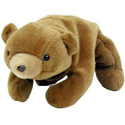 TY Beanie Baby - CUBBIE the Brown Bear (4th Gen hang tag) (8.5 inch) - MWMT's