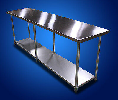 "New- 30""x96"" NSF Commercial Kitchen Restaurant Stainless Steel Prep Work Table"
