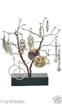 "NEW Wire Jewelry Tree Earrings Bendable 10.5"" High Countertop Retail Display"