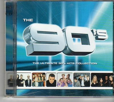 (EV448) Various Artists, The 90's The Ultimiate Hits Collection - 1999 double CD