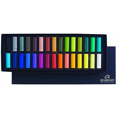 Rembrandt 30 Artists Soft Demi Pastel Box Set. Professional Artists Pastels