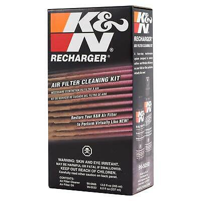 K&N 99-5050 Pump Spray Air Filter Maintenance / Service / Recharger Complete Kit