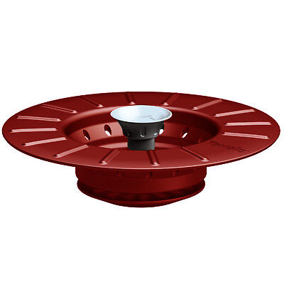 Tovolo Collapsible Sink Stopper & Strainer, Chili Pepper