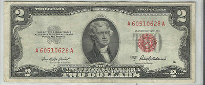 Series 1953-A Us Note  $2 Bill ~~Tough Date~~Xf