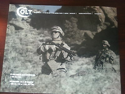 Colt Military Rifle & Carbine Catalog Booklet / 2013  / New / 24 Pages