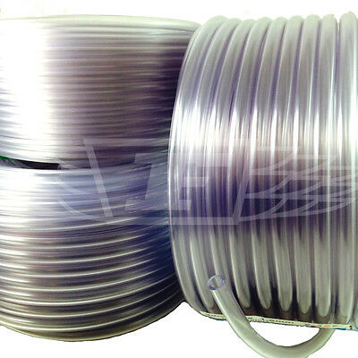 CLEAR PVC TUBE STANDARD WALL (1.5mm) PLASTIC HOSE PIPE, FOOD , FISH POND AIR