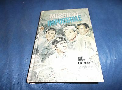 1970 Whitman Mission Impossible The Money Explosion TV Adventure HC Book