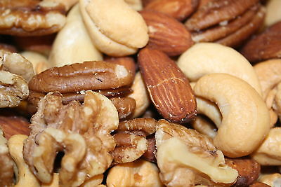 Mixed Nuts Deluxe Roasted Unsalted, 3Lbs