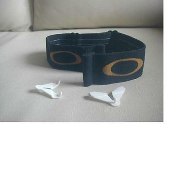 OAKLEY O M FRAME MX GOGGLE Helmut replacement STRAP ONLY without white grips