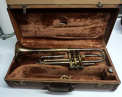 Conn Director 1956-57 Shooting Star Trumpet w/Conn 4 Mouthpiece in Case - USED