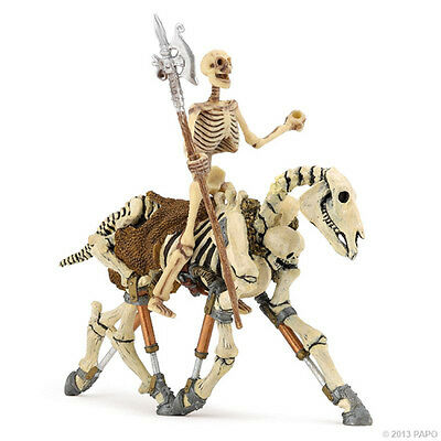 NEW PAPO 38908 Glow In The Dark Skeleton & 38993 Skeleton Horse Group - Set of 2