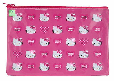 Brand New Sanrio Hello Kitty Cosmetic Bag Pencil Pouch ( Pink #2 )