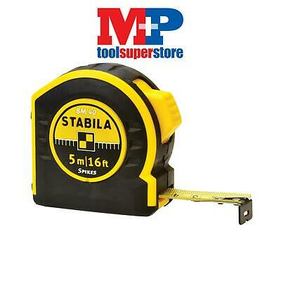 Stabila BM405 BM 40 Pocket Tape 5m/16ft (Width 19mm)