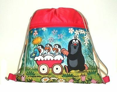 Krtek - Little Mole - Maulwurf SCHOOL SPORTS BAG new official Czech item