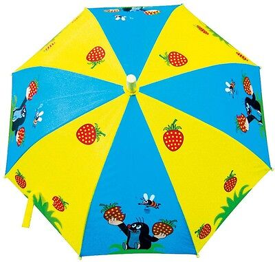 Krtek - Little Mole - Maulwurf BIG WOODEN UMBRELLA new official Czech item