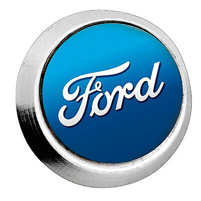 Richbrook 4 x Ford Logo Anti Theft Number Plate Bolts - Officially Licensed
