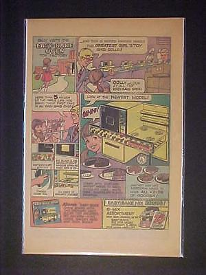 OLD ~KENNER TOYS EASY-BAKE OVEN GIRLS TOY PRINT AD~ RARE ORIGINAL VINTAGE 1973