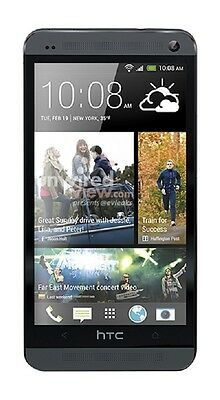 HTC ONE Phone M7 BoomSound Android LTE 32GB UltraPixel QuadCore Unlocked Black
