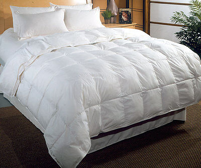 New 15 Tog Double Bed Size Duck Feather & Down Duvet / Quilt Bedding