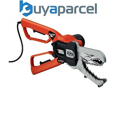 Black & Decker GK1000 Alligator 10cm Garden Chainsaw Lopper Pruner 550w GK1000