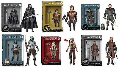"""Game Of Thrones 6"""" Figure Legacy Series One Set of 6 Action Figures"""