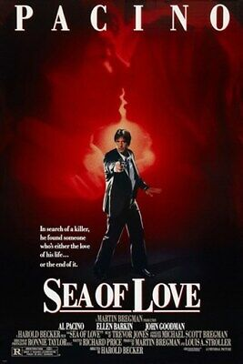 AL PACINO sea of love movie poster ELLEN BARKIN prized romance 24X36 HOT