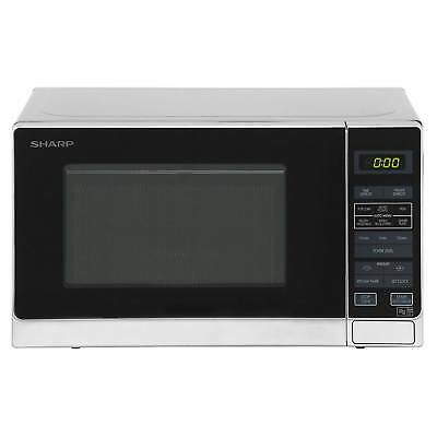 Sharp R-272SLM Solo 800W Microwave with 11 Power Levels & 20L Capacity