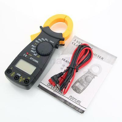 DT3266L Digital Automatic AC DC Volt Tester Clamp Meter Multimeter Electric New