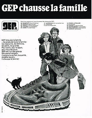 a6b889765934b7 PUBLICITE ADVERTISING 104 1980 GEP chaussures baskets GEPY - EUR 3 ...