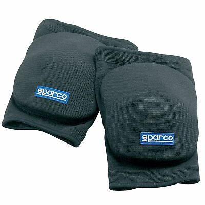 Sparco Go Kart/Karting/Mechanics/Motorsport Elbow Pads/Protection - In Black