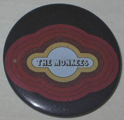 """Monkees Logo Pin #1 Approx 1.5"""""""