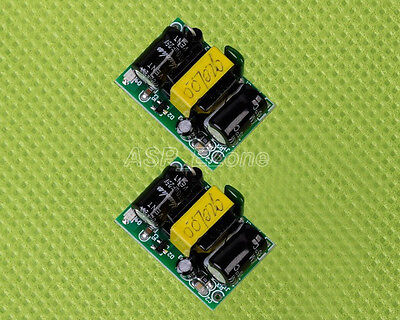 2PCS 12V 450mA AC-DC Power Supply Buck Converter Step Down Module LED Driver