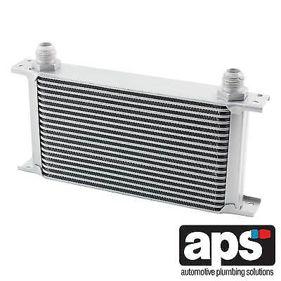 """APS Gearbox / Diff / Engine Oil Cooler 19 Row 235mm 1/2"""" BSP Male Fittings"""