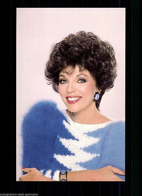 Joan Collins TOP AK 80er Jahre u.a. Denver Clan  +74085 D