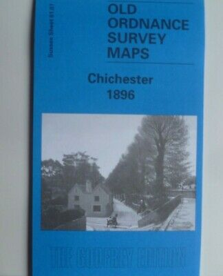 OLD ORDNANCE SURVEY MAPS CHICHESTER  SUSSEX 1896 SHEET 61.07 Brand New