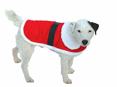 Good Boy Dog Puppy Santa Christmas Xmas Festive Winter Coat Jacket XS S M L XXL