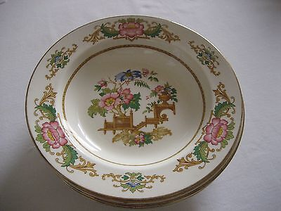 Barratts of Staffordshire 'Oriental Vase'  Soup Dish x 6