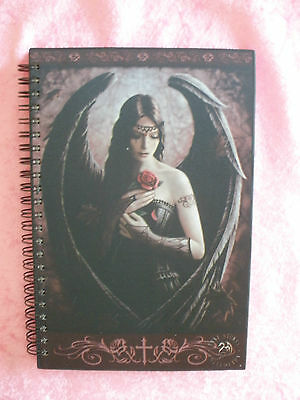 Anne stokes journal notebook writing diary almanac ledger Gothic Angel Rose