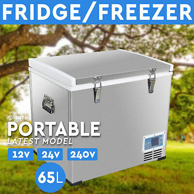 NEW! 65L Portable Freezer Fridge 12V/24V/240V  Camping Car Boat Caravan  Cooler