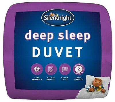 Silentnight Luxury Deep Sleep Hollowfibre Extra Soft & Warm Duvet - 10.5 Tog