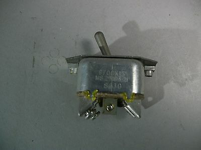 Military Toggle Switch MS25103-21 New